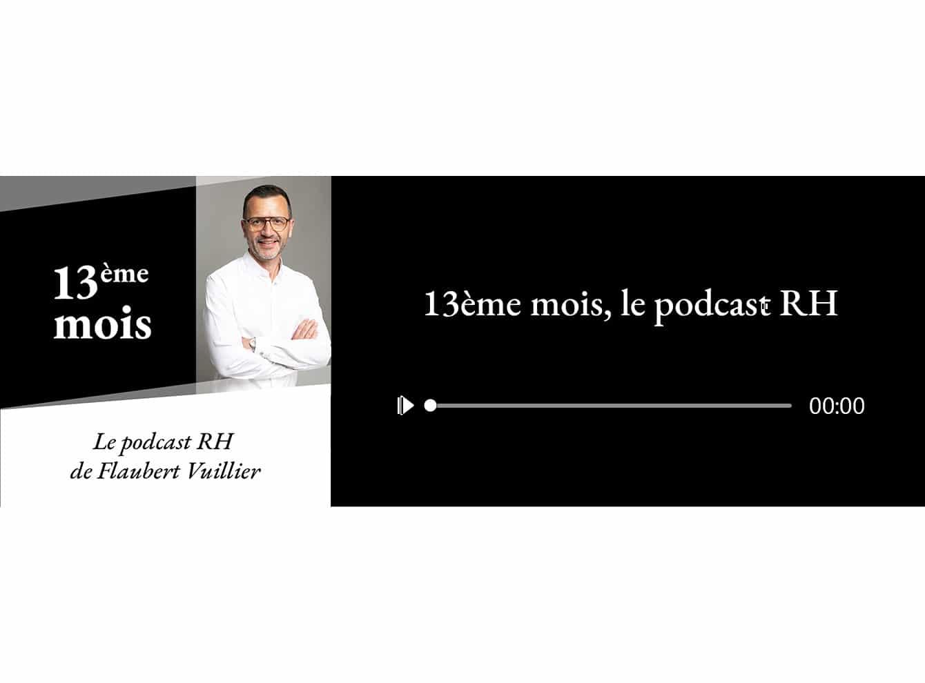 """Lancement de notre podcast """"13ème mois"""""""